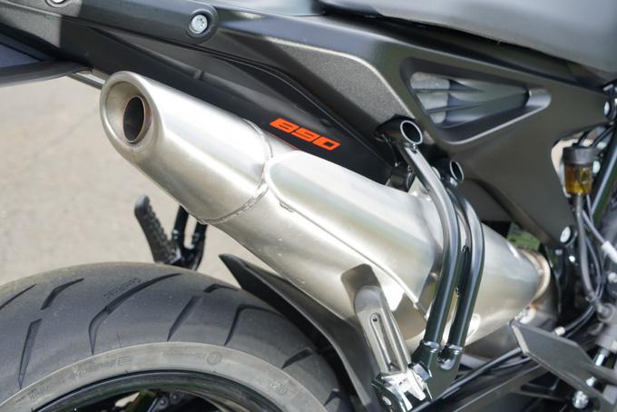 【KTM 890 DUKE 試乗記】とびきりのスポーツ性能と扱いやすさが共存の18画像