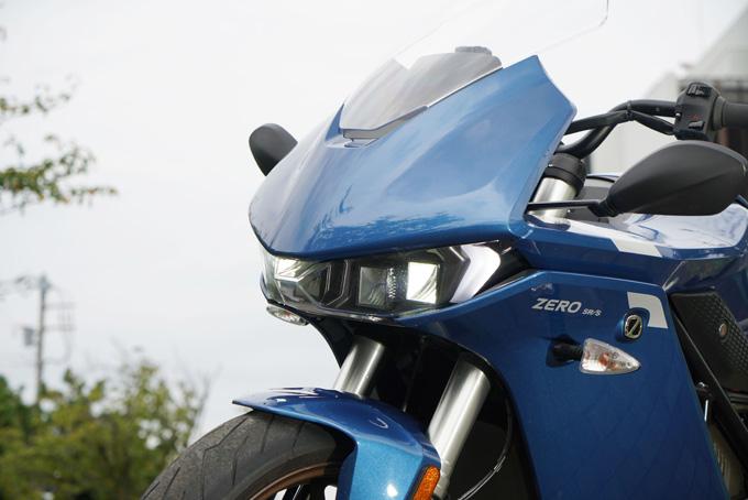 【ゼロモーターサイクルズ SR/S 試乗記】航続可能距離300km超!長く待たれたEVバイク移行、機は熟したの14画像
