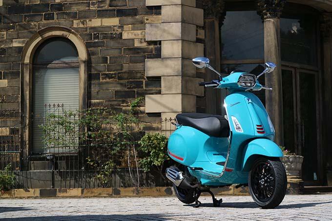 【ベスパ スプリントS 150 試乗記】 激戦区150ccスクーター界のオシャレ番長は走りも本格派