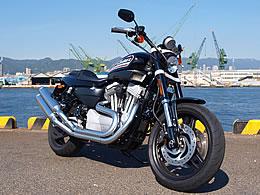ハーレーダビッドソン スポーツスターXR1200 写真
