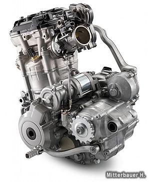 耐久性を上げながら軽量化を実現したエンジン