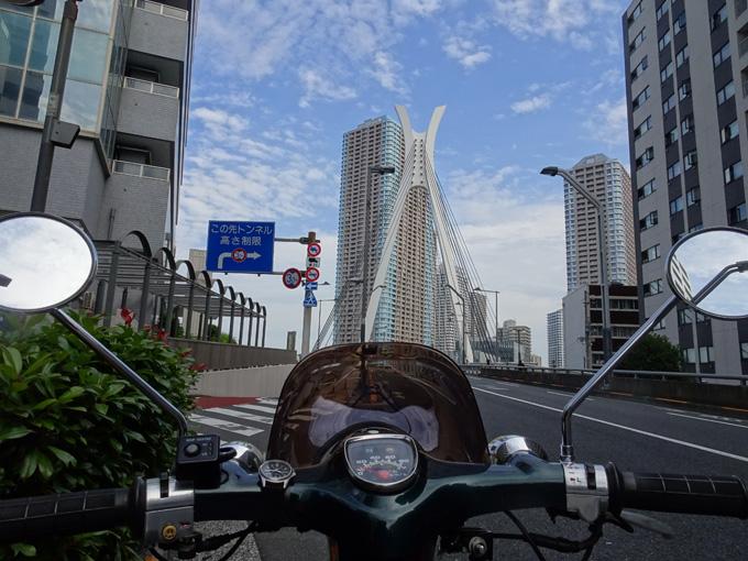 ゆるカブ第百五十四回「タワマンそびえる東京下町をカブ散歩」02画像