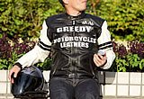 GREEDY GRW-231 LEATHER JACKET
