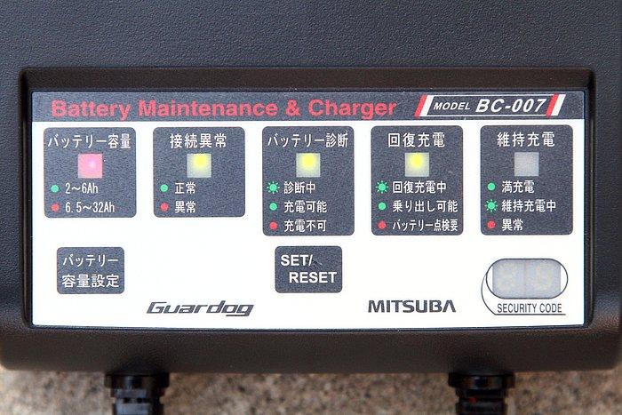 バッテリー容量や接続の異常、現在の充電状態など、各種の操作や状況を知らせてくれる操作パネルは日本語表記となる。はじめて使う際でもわかりやすく、戸惑うことはないはずだ。