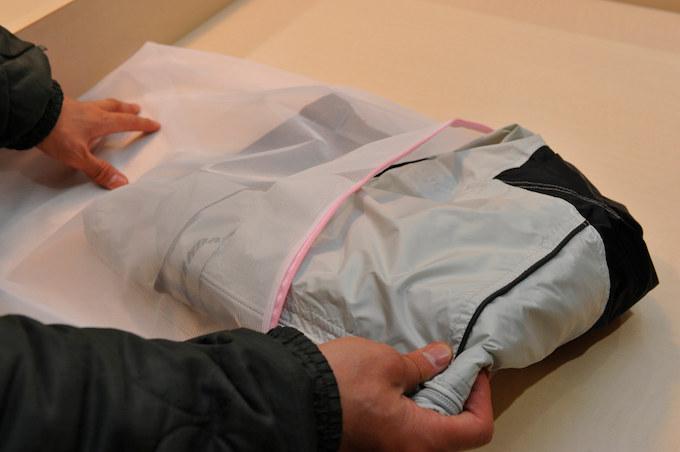 レインジャケットのお手入れ方法とは?の画像