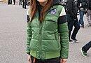 ジェッペルに合わせてファッションもアメカジで統一! ジャケットのカラーをグリーンにしたところにカラーセンスを感じます。