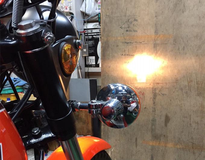 カワサキW1や500SSマッハなどの小径ヘッドライトでも驚きの明るさに!?の画像