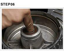 ついでにホイールベアリングの回転もチェックしておく。グリス切れやサビ、グリスの固着など、回転が渋くなっている場合は思い切って交換する。