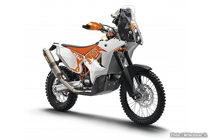 KTMが一般ユーザー向け450 RALLY レプリカを受注販売