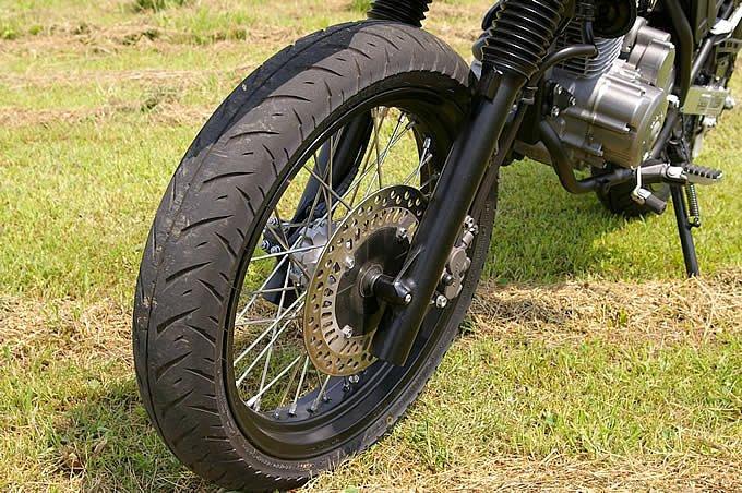 モタードバイク用のブロックタイヤって無いの?