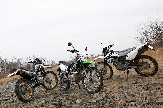 初めてのオフロードバイクは125ccくらいにしておいたほうがいいですか?
