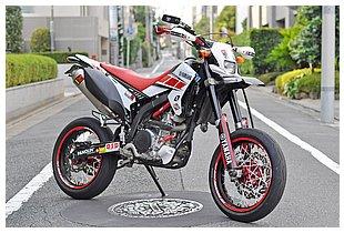 ヤマハ WR250X SIDE VIEW