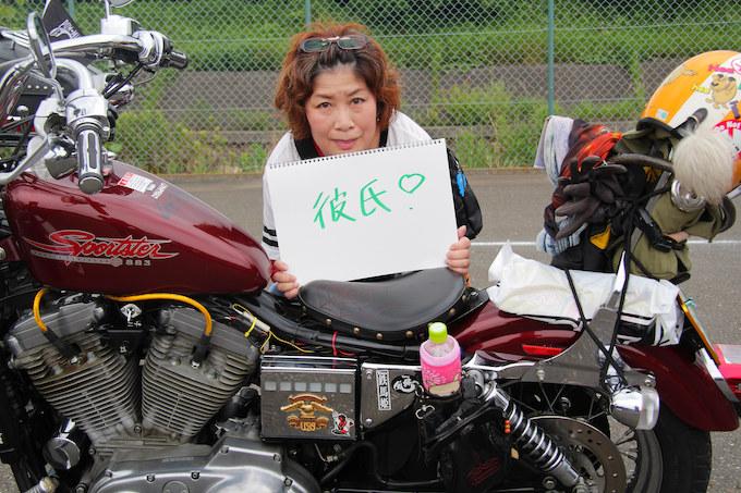 ライダースナップ でじこ さん (ハーレーダビッドソン スポーツスター883/2000年式)