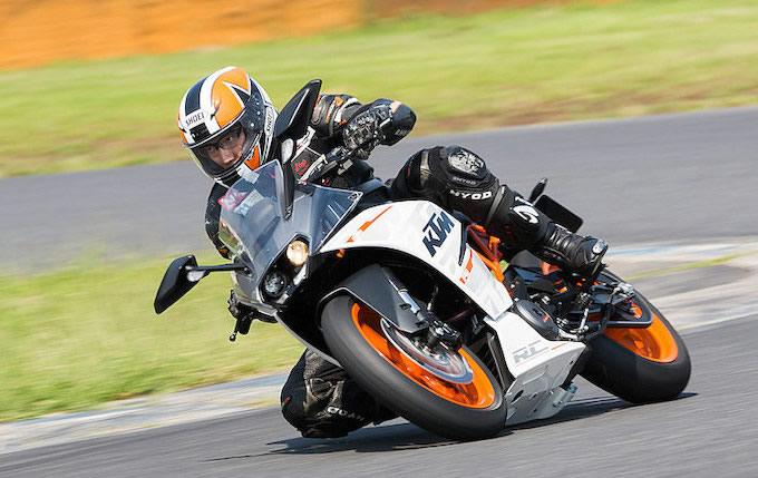 KTM RC390の画像