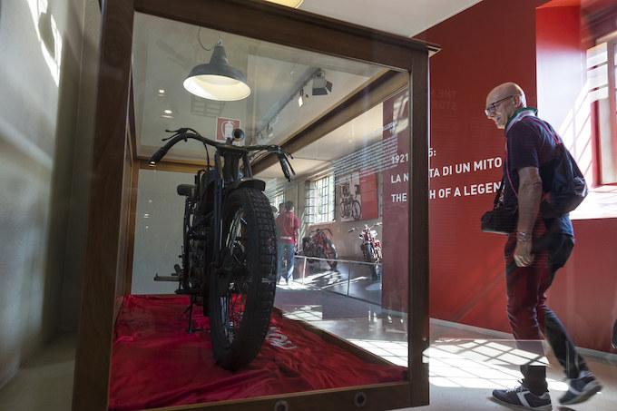 【モトグッツィ海外レポート2】本社に併設された博物館『MOTO GUZZI MUSEO』を訪ねる