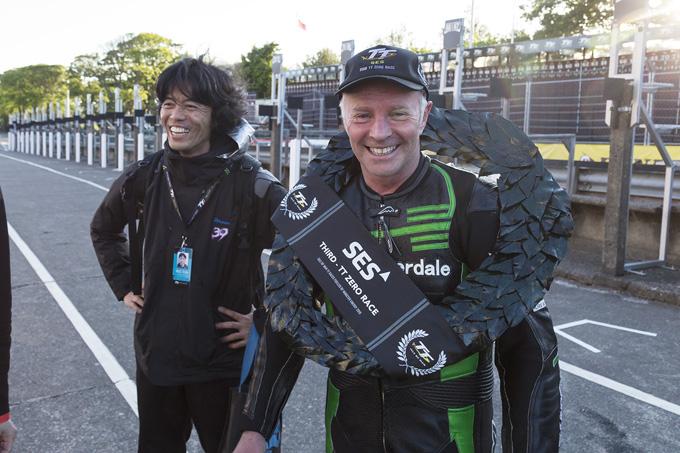 マン島TT 2019、TT-ZEROクラスの表彰台を日本人エントラントが独占!の画像14