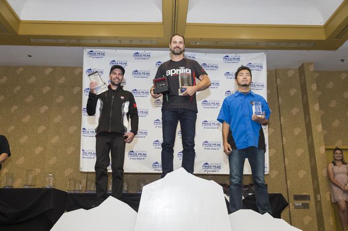 「パイクスピーク・インターナショナル・ヒルクライム」で井上哲悟選手がクラス3位を獲得!の画像
