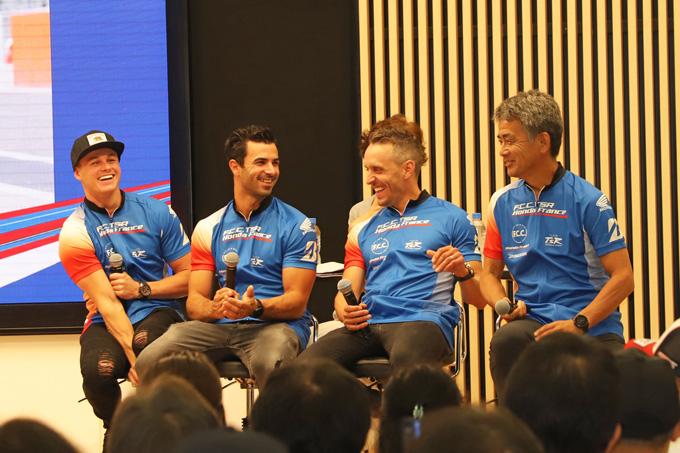 ホンダが8耐参戦3チームを集め「決勝直前! 鈴鹿8耐ファンミーティング」を開催の画像02