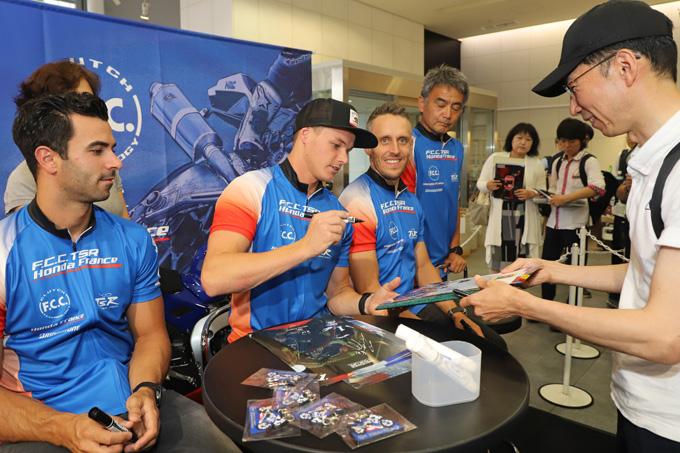 ホンダが8耐参戦3チームを集め「決勝直前! 鈴鹿8耐ファンミーティング」を開催の画像13