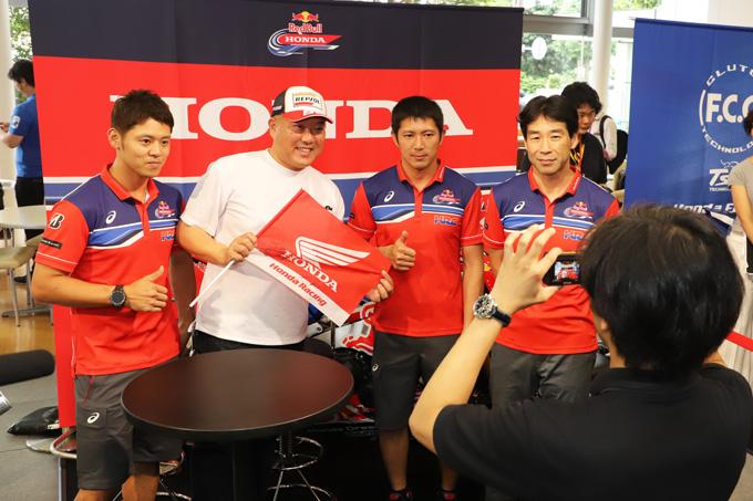 ホンダが8耐参戦3チームを集め「決勝直前! 鈴鹿8耐ファンミーティング」を開催の画像14