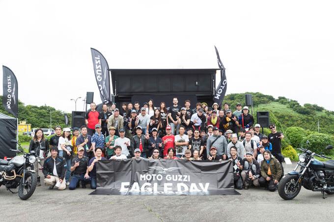 【モトグッツィ】箱根で催されたグッツィファンの集い「MOTO GUZZI EAGLE DAY JAPAN 2019」レポートの画像02