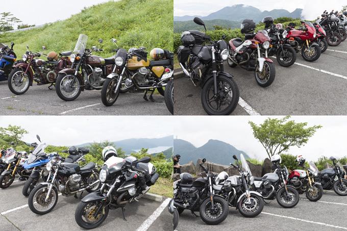 【モトグッツィ】箱根で催されたグッツィファンの集い「MOTO GUZZI EAGLE DAY JAPAN 2019」レポートの画像03