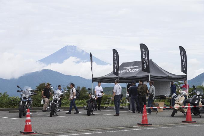 【モトグッツィ】箱根で催されたグッツィファンの集い「MOTO GUZZI EAGLE DAY JAPAN 2019」レポートの画像04