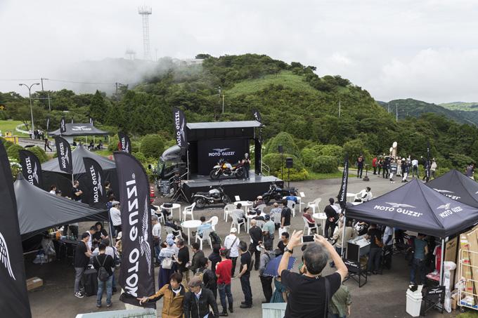 【モトグッツィ】箱根で催されたグッツィファンの集い「MOTO GUZZI EAGLE DAY JAPAN 2019」レポートの画像06