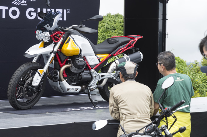 【モトグッツィ】箱根で催されたグッツィファンの集い「MOTO GUZZI EAGLE DAY JAPAN 2019」レポートの画像13