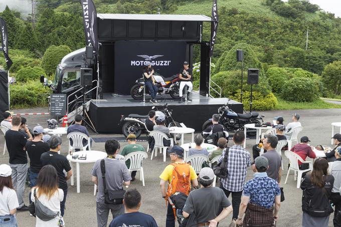 【モトグッツィ】箱根で催されたグッツィファンの集い「MOTO GUZZI EAGLE DAY JAPAN 2019」レポートの画像14