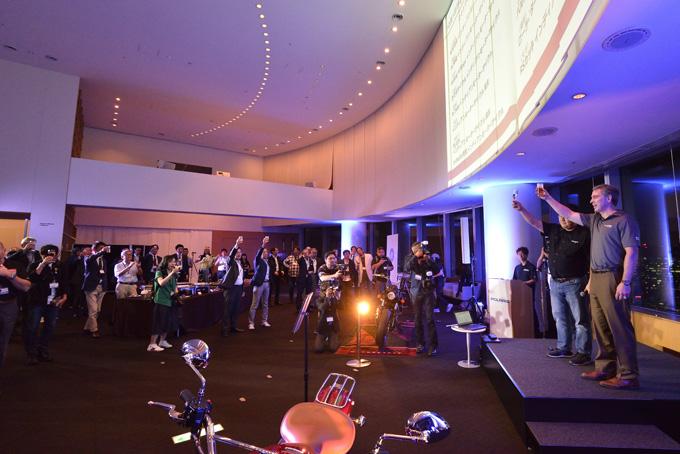 インディアンモーターサイクルを取り扱う「ポラリスジャパン グランドオープニングパーティー」レポートのメイン画像