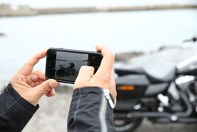 iphoneを使ってSNS映えするカッコいいバイク写真を撮ろう‼の画像02