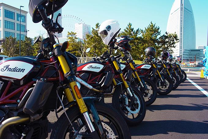 インディアンのFTRが横浜に集結!「第一回FTRオーナーズミーティング」レポートの画像01