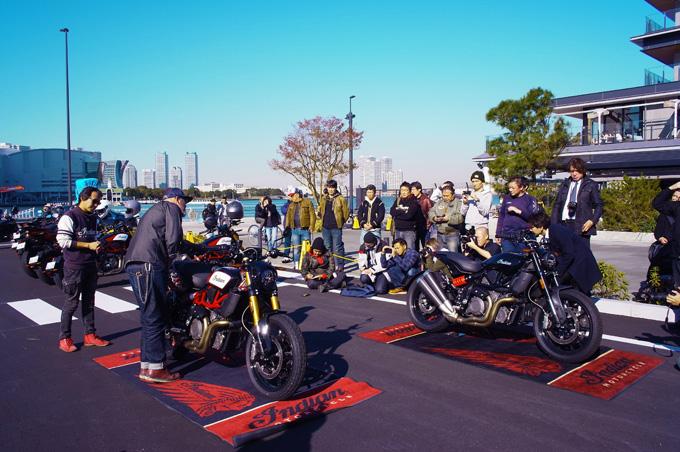 インディアンのFTRが横浜に集結!「第一回FTRオーナーズミーティング」レポートの画像06