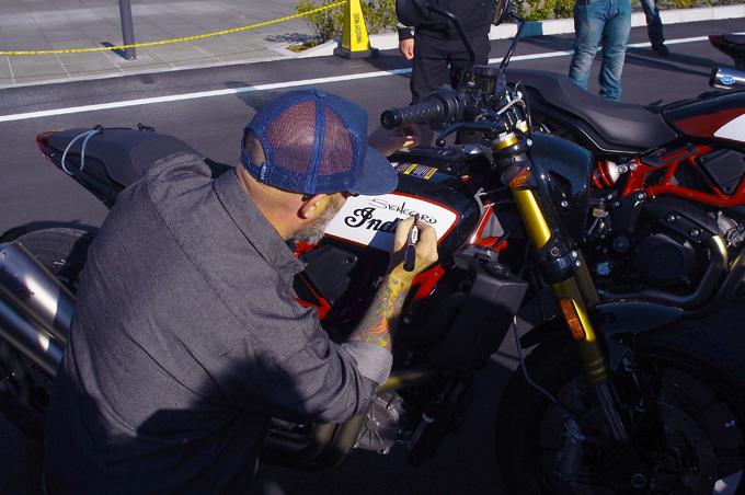 インディアンのFTRが横浜に集結!「第一回FTRオーナーズミーティング」レポートの画像14