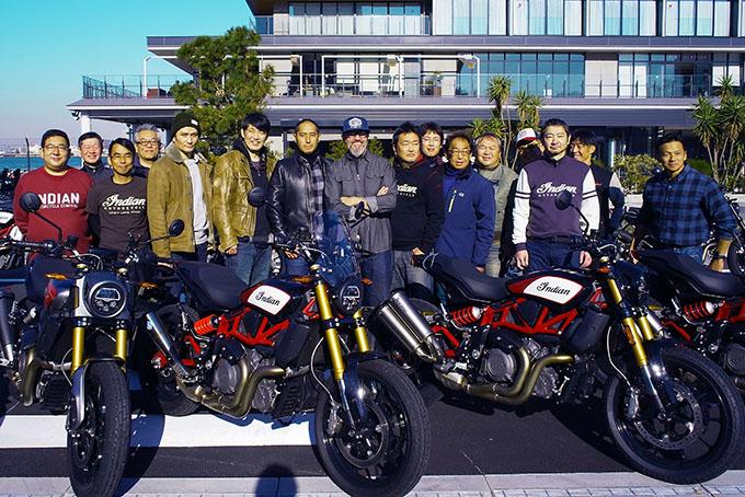 インディアンのFTRが横浜に集結!「第一回FTRオーナーズミーティング」レポートのメイン画像