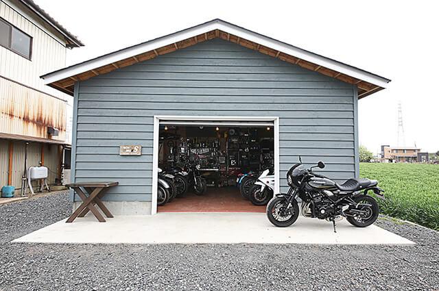素材別ユニットガレージ特集/WOOD GARAGE『J STYLE GARAGE』 埼玉県・N邸のメイン画像