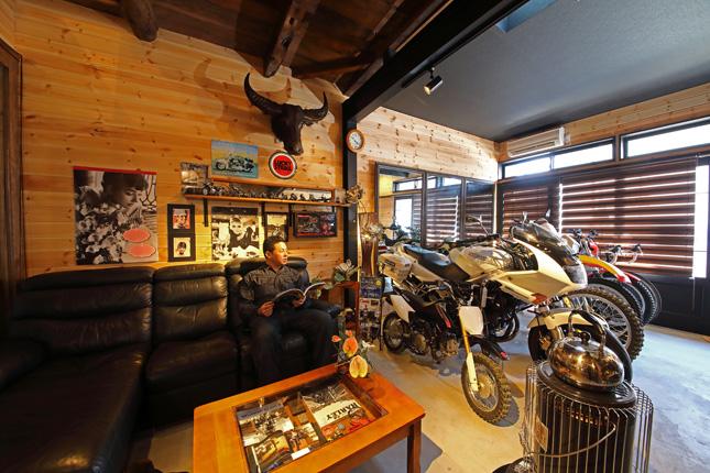 【新型コロナに負けるな!ガレージライフ】祖父から譲り受けた長屋をベースに、バイクライフを満喫できるガレージハウスへと大幅リノベーションの画像05