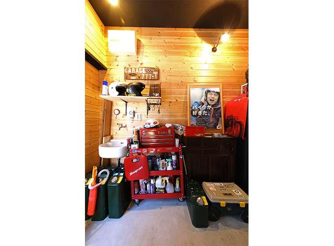 【新型コロナに負けるな!ガレージライフ】祖父から譲り受けた長屋をベースに、バイクライフを満喫できるガレージハウスへと大幅リノベーションの画像06