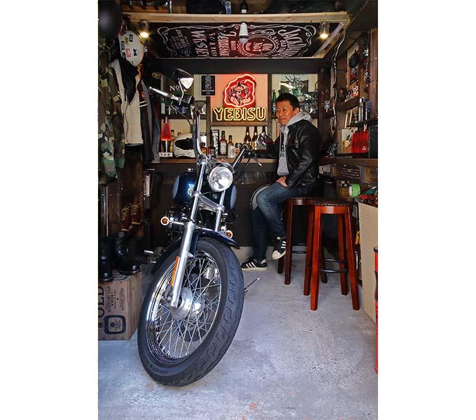 【新型コロナに負けるな!ガレージライフ】キットで造るカッコいいバイクガレージ!!の画像07
