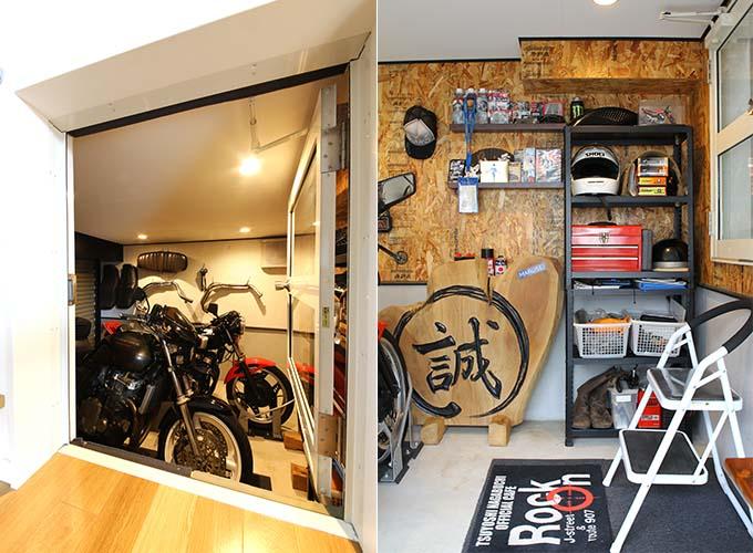 【新型コロナに負けるな!ガレージライフ】10代の頃夢に描いていたバイクガレージのある家を実現の画像05