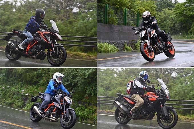 KTM&ハスクバーナ・モーターサイクルズの最新モデルを南箱根で乗りつくす、試乗会レポートの画像12