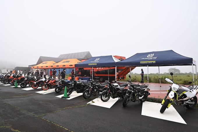 KTM&ハスクバーナ・モーターサイクルズの最新モデルを南箱根で乗りつくす、試乗会レポートのメイン画像