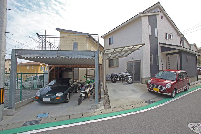【新型コロナに負けるな!ガレージライフ】ビルトインガレージはバイクだけにすることで、念願のガレージハウスを実現のメイン画像