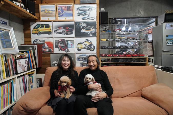 【新型コロナに負けるな!ガレージライフ】クルマ、バイク関係をはじめ、数々のデザインを手掛けた日本を代表するデザイナーが創り上げた創作空間の画像06
