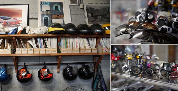 【新型コロナに負けるな!ガレージライフ】クルマ、バイク関係をはじめ、数々のデザインを手掛けた日本を代表するデザイナーが創り上げた創作空間の画像11