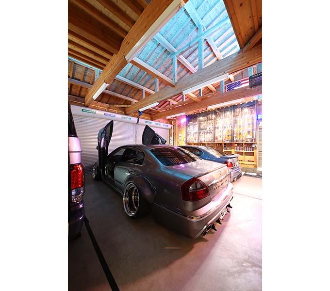 【新型コロナに負けるな!ガレージライフ】オトーサンがDIYでコツコツと仕上げ、親子で楽しめる素敵なガレージを構築の画像07