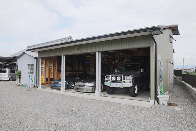 【新型コロナに負けるな!ガレージライフ】オトーサンがDIYでコツコツと仕上げ、親子で楽しめる素敵なガレージを構築のメイン画像