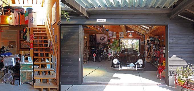 """【新型コロナに負けるな!ガレージライフ】ガレージ、中庭、それらをつなぐ生活空間、すべてにぬくもりを感じさせる""""すぎのいえ""""の画像05"""