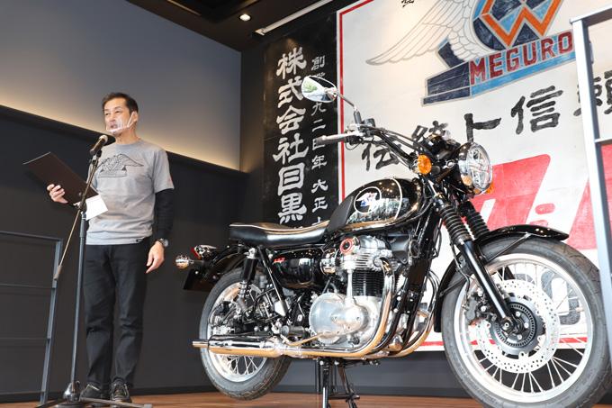 伝統のブランドが復活!カワサキ メグロK3メディア向け発表・説明会レポートの画像06